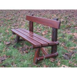 Ławka drewniana L-94 - ławka parkowa