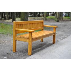 Ławka drewniana klasyczna L-110a