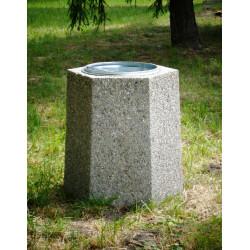 Kosz miejski KB-15 betonowy