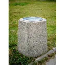 Kosz miejski KB-19 betonowy