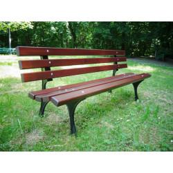 Ławka żeliwna L-02 - ławka ogrodowa / miejska / parkowa
