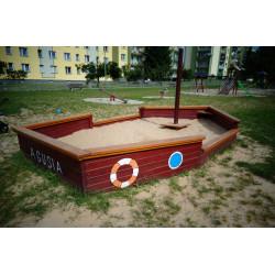 Piaskownica PZD-01 statek