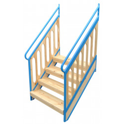 Schody z barierą do wieży EZD-07a