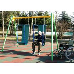 Huśtawka dla niepełnosprawnych - podwójna PZ-NS-01