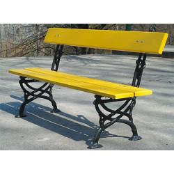 Ławka  żeliwna L-01 -  ławka ogrodowa / miejska / parkowa