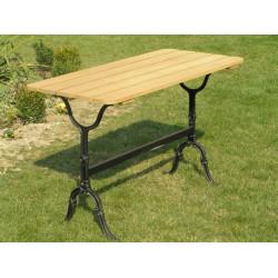 Żeliwno-stalowy stół ogrodowy S-08
