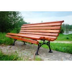 Ławka żeliwna L-06 - ławka ogrodowa / miejska / parkowa