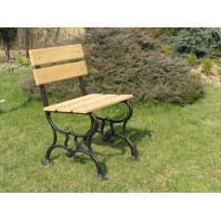 Krzesło żeliwne L-09 - krzesło ogrodowe