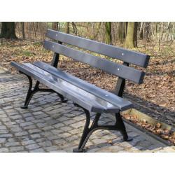 Ławka żeliwna L-16 - ławka ogrodowa / miejska / parkowa