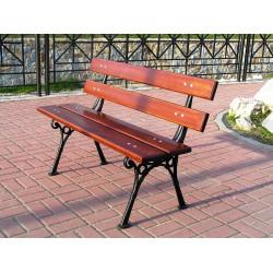 Ławka żeliwna L-18 - ławka ogrodowa / miejska / parkowa
