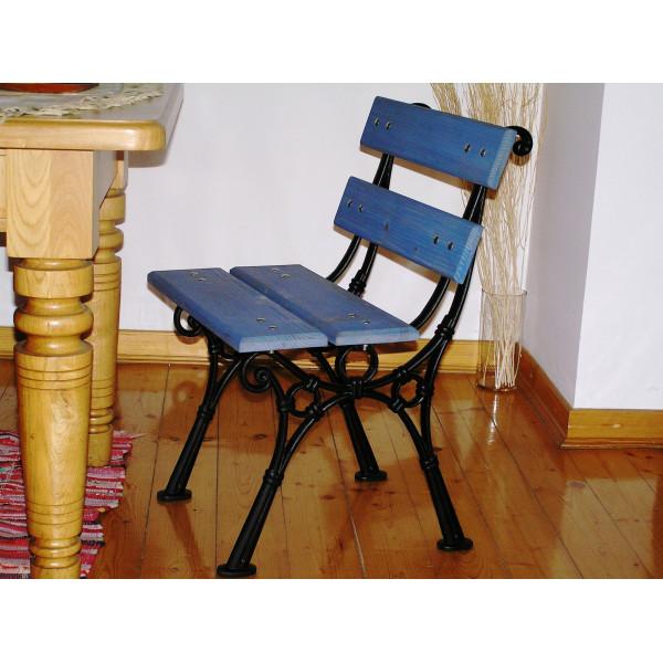 Krzesło L-19 - krzesło ogrodowe z aluminium