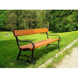 Ławka żeliwna L-53 - ławka ogrodowa / miejska / parkowa