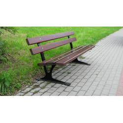 Ławka żeliwna L-64 - ławka ogrodowa / miejska / parkowa