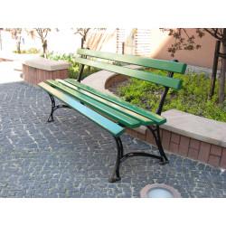 Ławka żeliwna L-92a  - ławka ogrodowa / miejska / parkowa