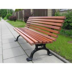 Ławka żeliwna L-95a  - ławka ogrodowa / miejska / parkowa