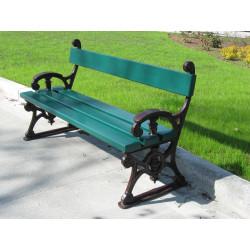 Ławka żeliwna L-98  - ławka ogrodowa / miejska / parkowa