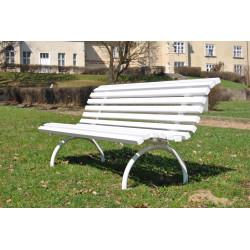Ławka stalowa L-55 - ławka ogrodowa / miejska / parkowa
