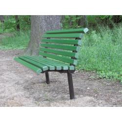 Ławka stalowa L-69 - ławka ogrodowa / miejska / parkowa
