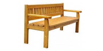Ławki drewniane - parkowe i leśne