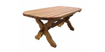 Stoły drewniane, ławostoły