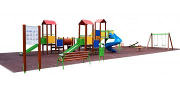 Place zabaw - wyposażenie